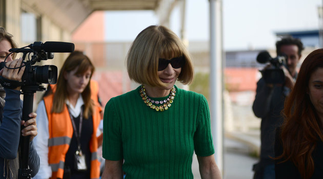 Anna Wintour fashion shows without children
