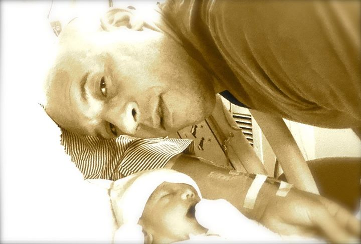 Vin Diesel with daughter