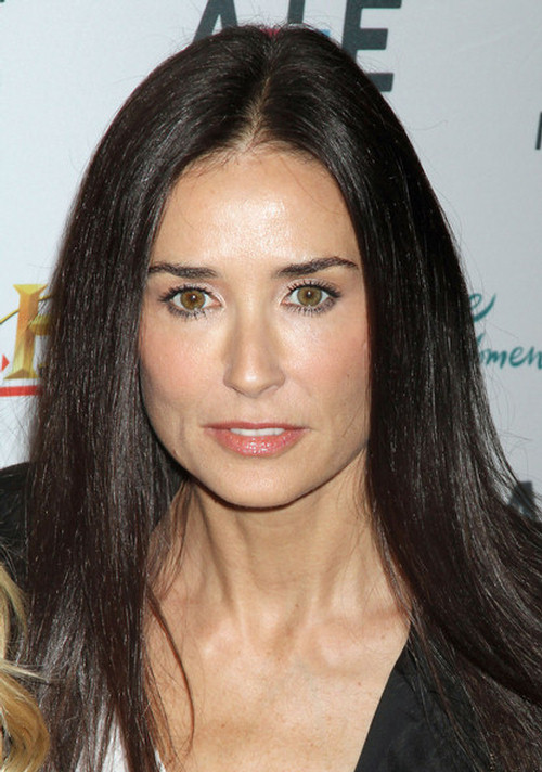 Demi Moore beat any young beauty