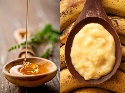 Homemade face masks for oily skin with banana and honey