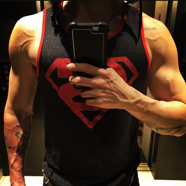 Jared Leto muscle