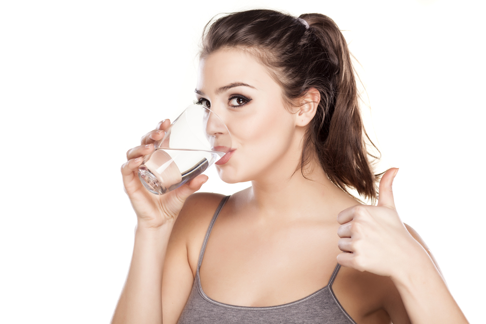 Drink water for lean body
