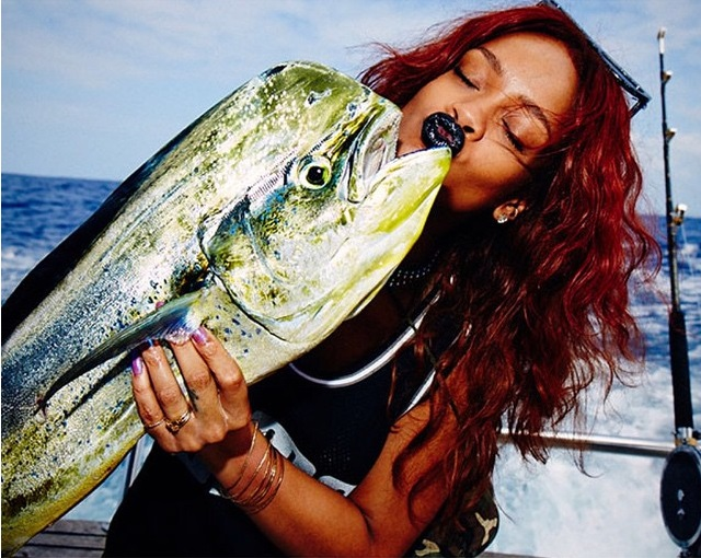 Rihanna big fish