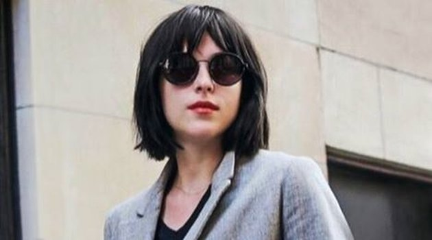 Dakota Johnson new hair cut