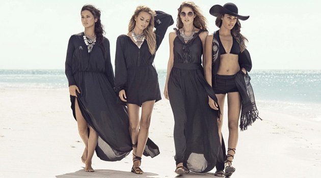 H&M video with supermodels