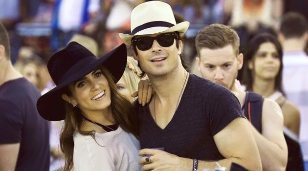 Ian Somerhalder and Nikki Reed husband and wife