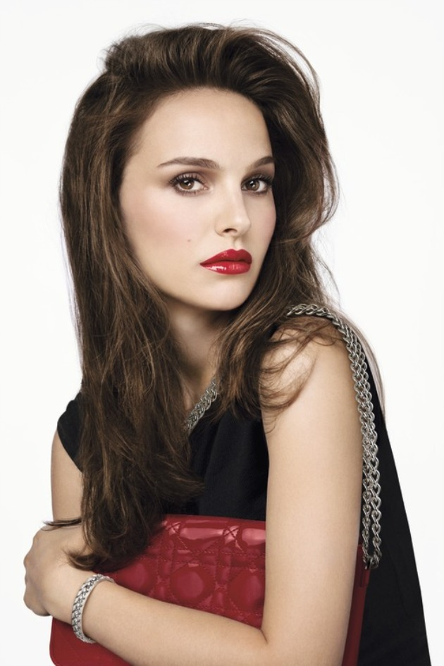 Natalie Portman Rouge Brillant by Dior