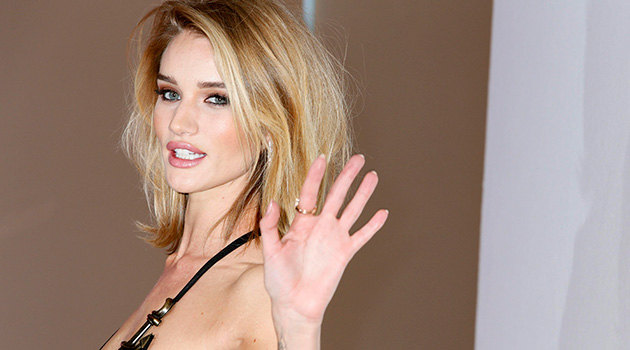 Rosie Huntington-Whiteley loves fast-food