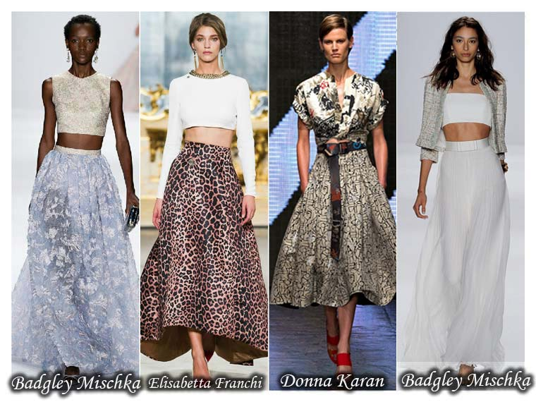 Summer 2015 long skirt trend
