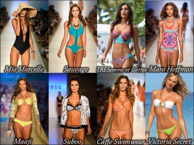 Summer 2015 fashionable swimsuits