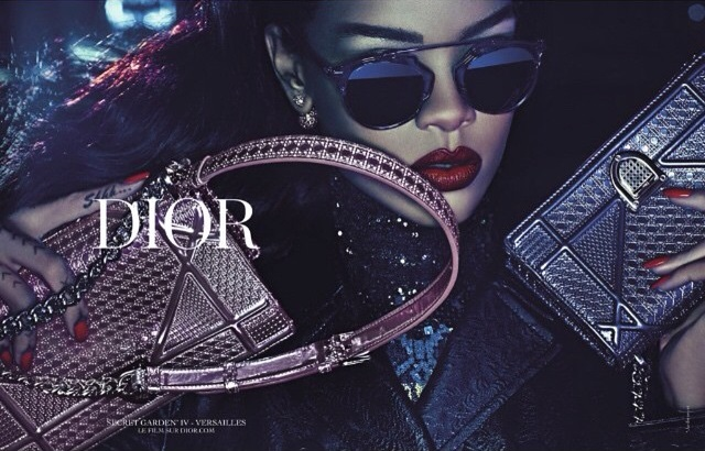 Rihanna the main character of Dior