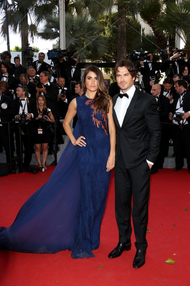 Nikki Reed and Ian Somerhalder Cannes 2015