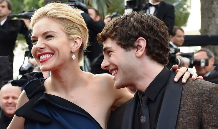 Sienna Miller and Xavier Dolan