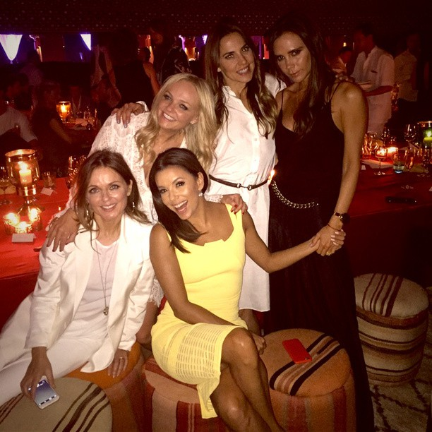 Latina Spice Girls reunited for David Beckham anniversary