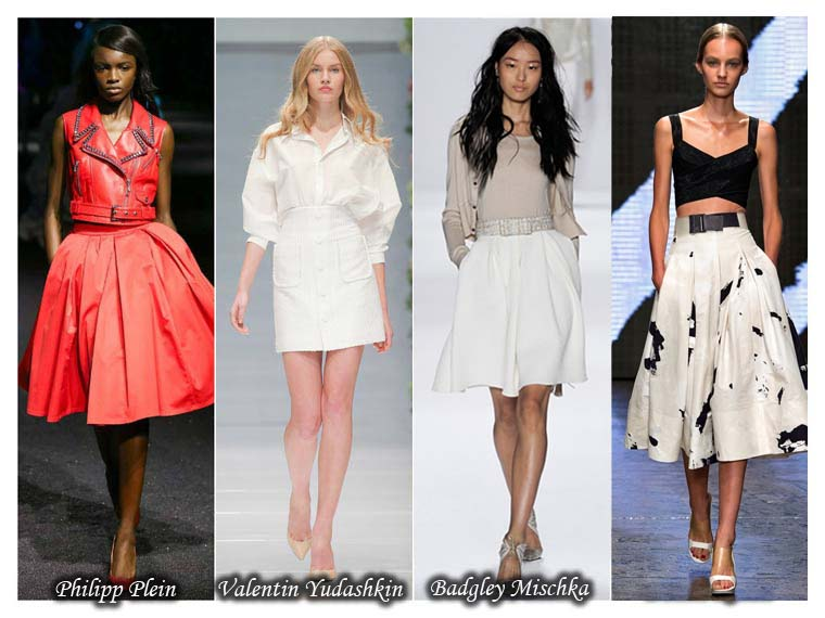 Summer 2015 belt skirts