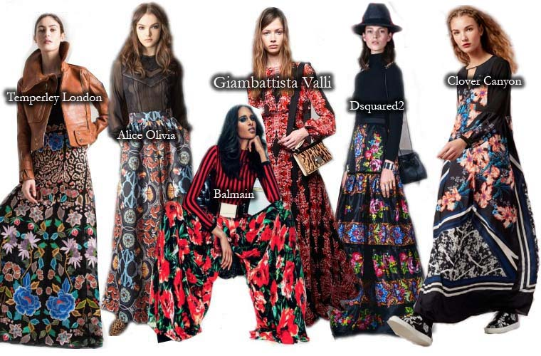 Fall 2015 gypsy outfits