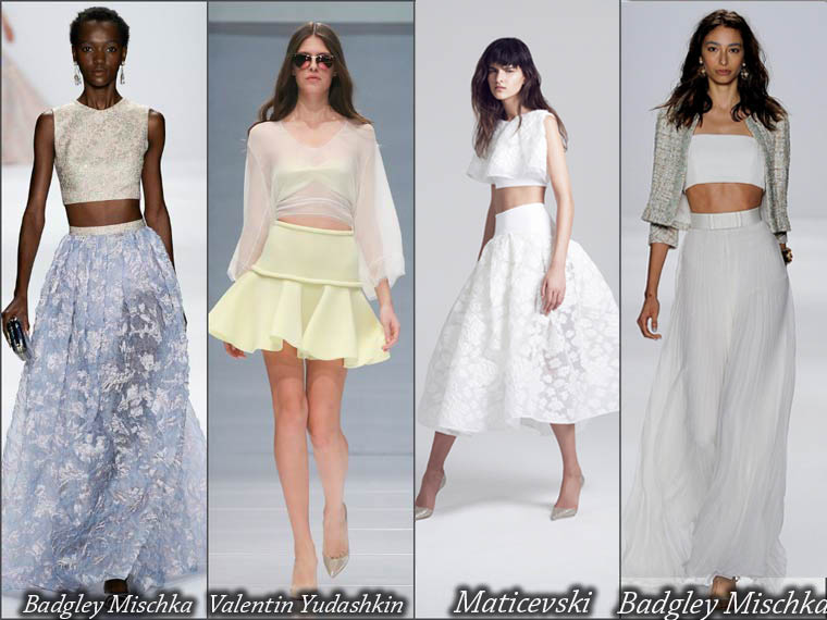 Summer 2015 luxury skirts