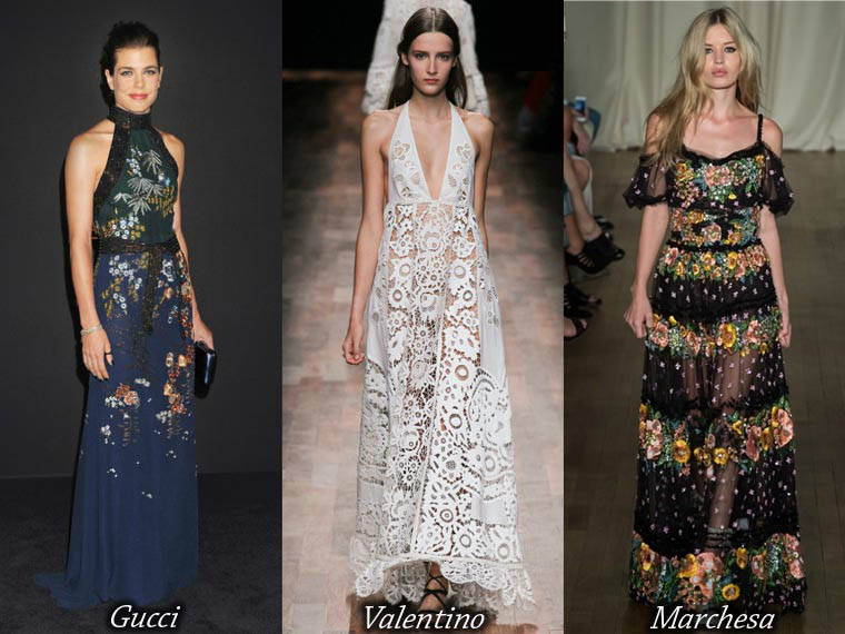 Summer 2015 floor length dresses