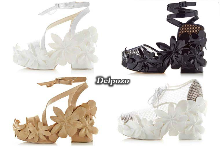 Summer 2015 women's sandals by Delpozo