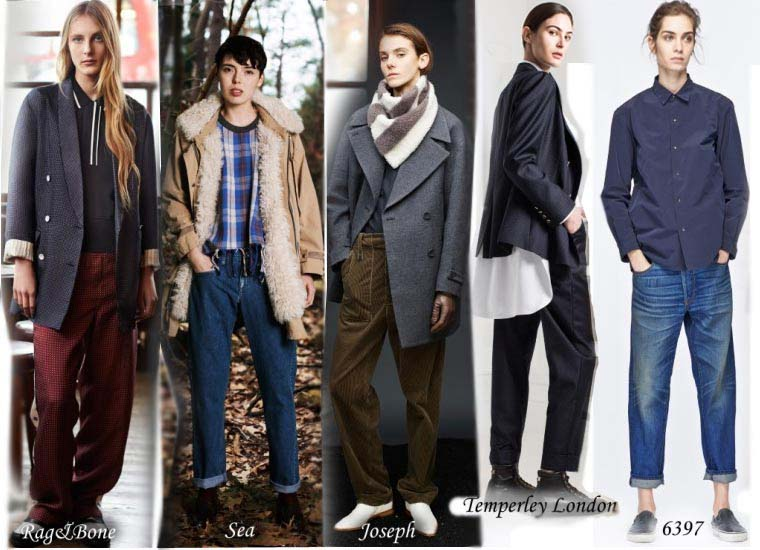 Fashionable comfort style clothing Fall 2015
