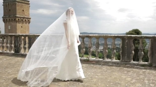 Alberta Ferretti wedding collection mini-movie