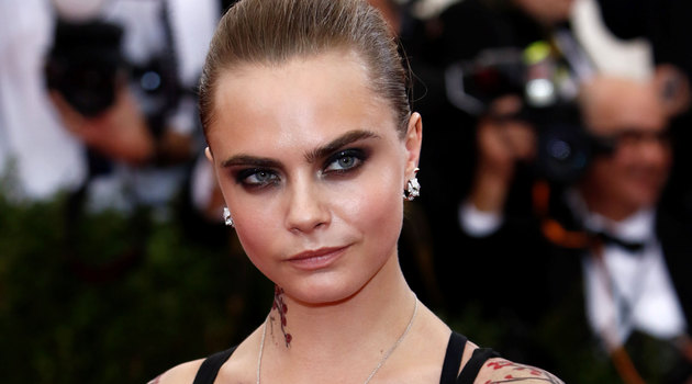 Cara Delevingne Luc Besson's movie