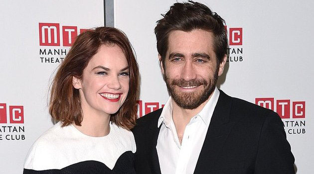 Jake Gyllenhaal in a relationship with Ruth Wilson