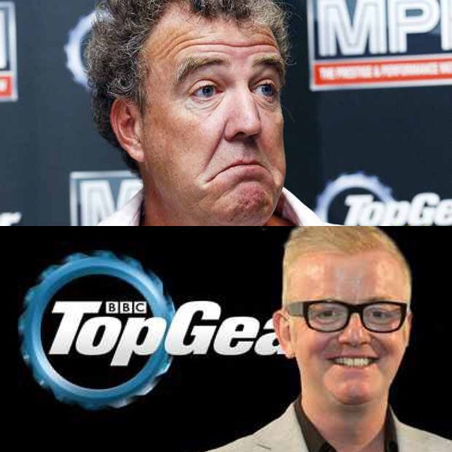 Jeremy Clarkson Chris Evans Top Gear