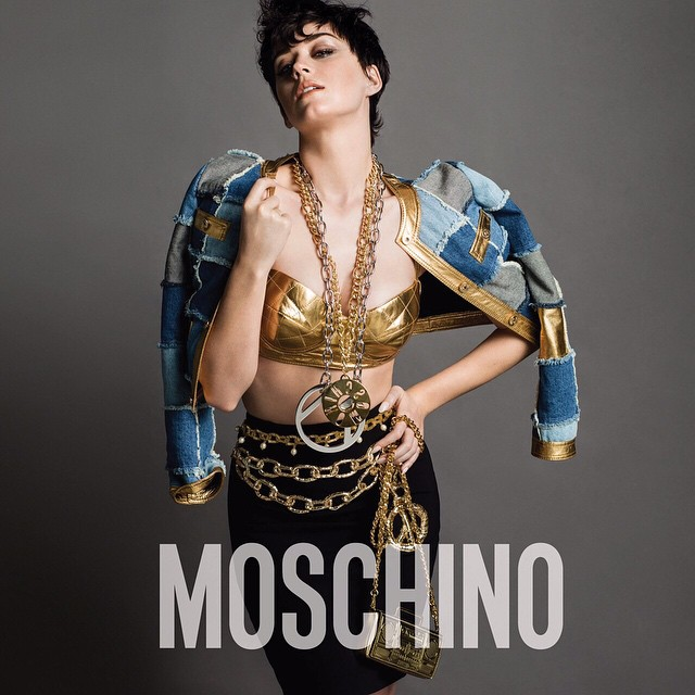Katy Perry Moschino face