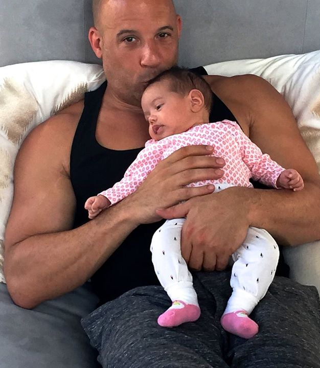 Vin Diesel Daughter 2015