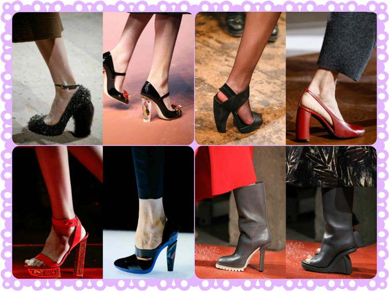 Unusual heels Fall-Winter 2015-2016
