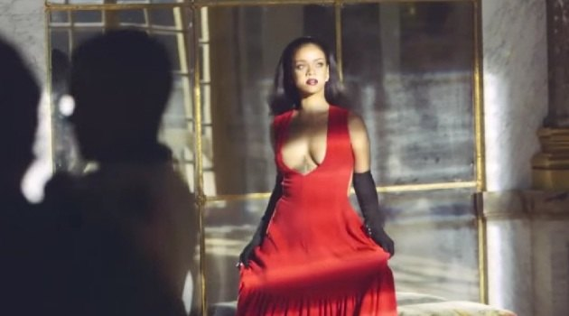 Dior backstage video of Secret Garden with Rihanna