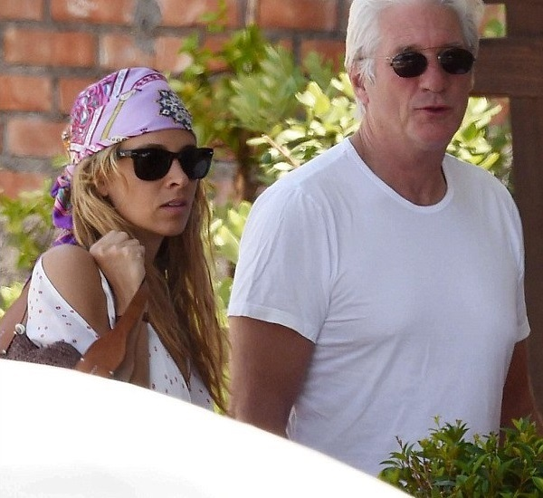Alejandra Silva Friedland and Richard Gere