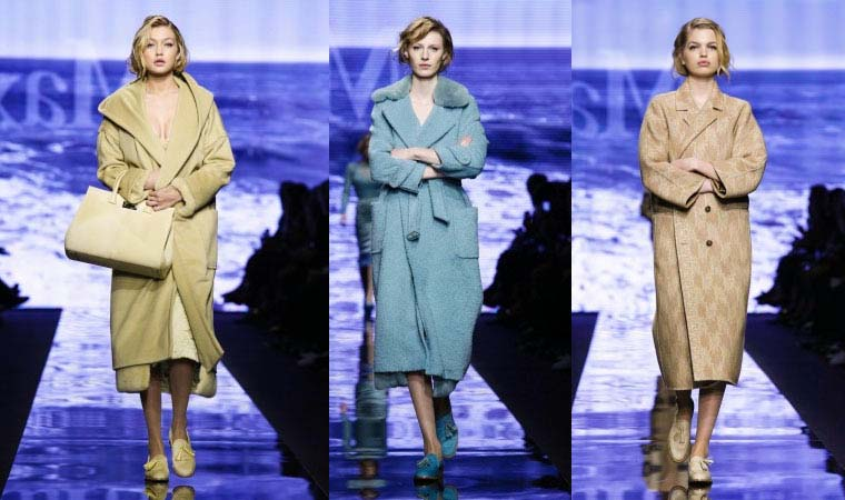 Pastel coats for women Fall Winter 2015-2016