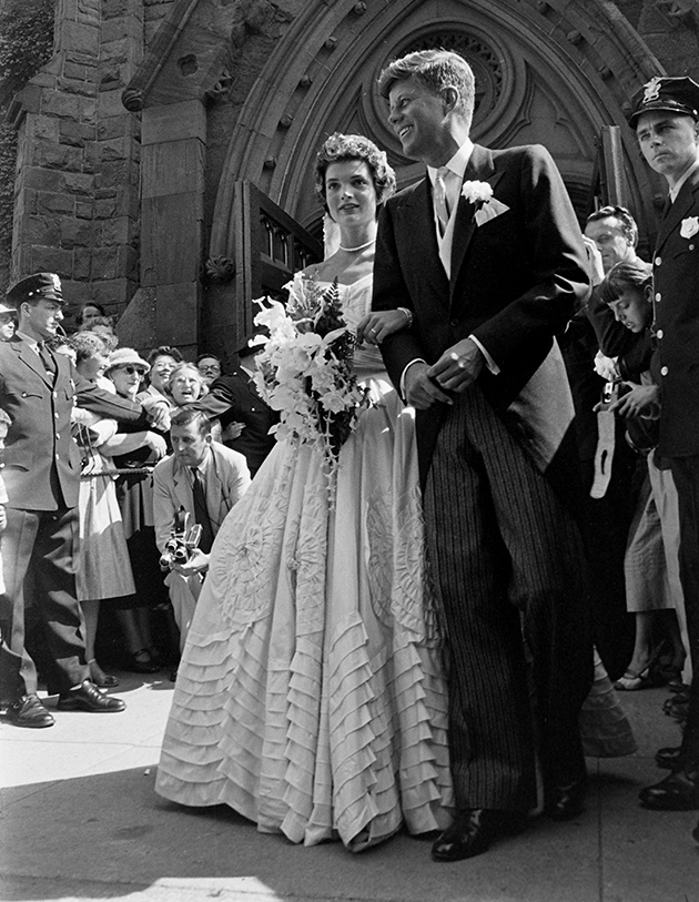 Jacqueline Kennedy Onassis wedding dress