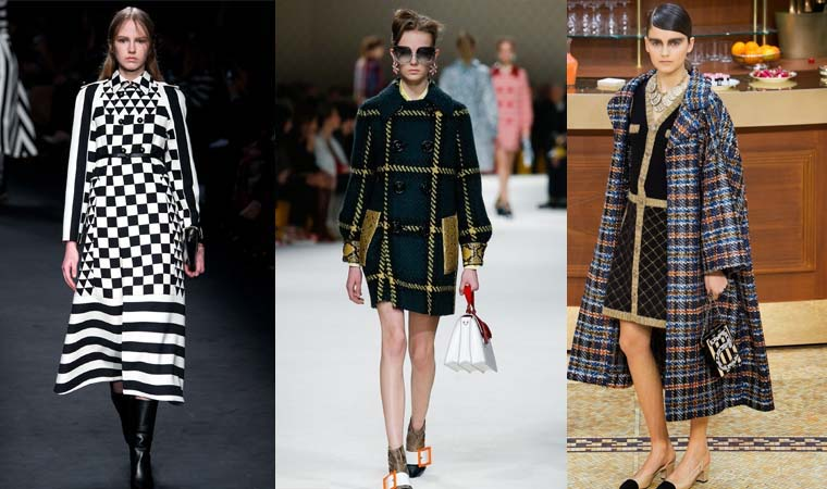 Plaid coat Fall-Winter 2015-2016