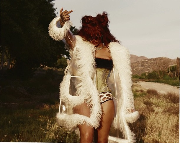 The nude and bloodied Rihanna in the new video