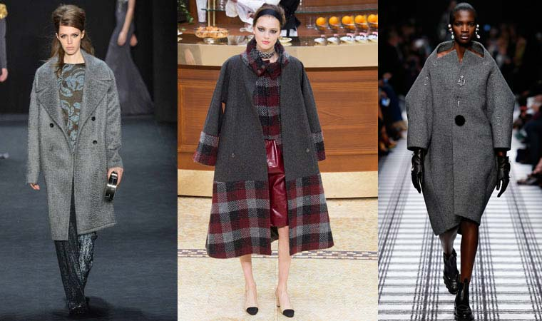 Oversize coat fall-winter 2015-2016
