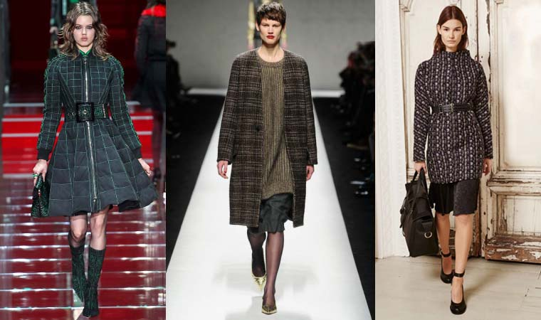 Plaid coat womens Fall-Winter 2015-2016