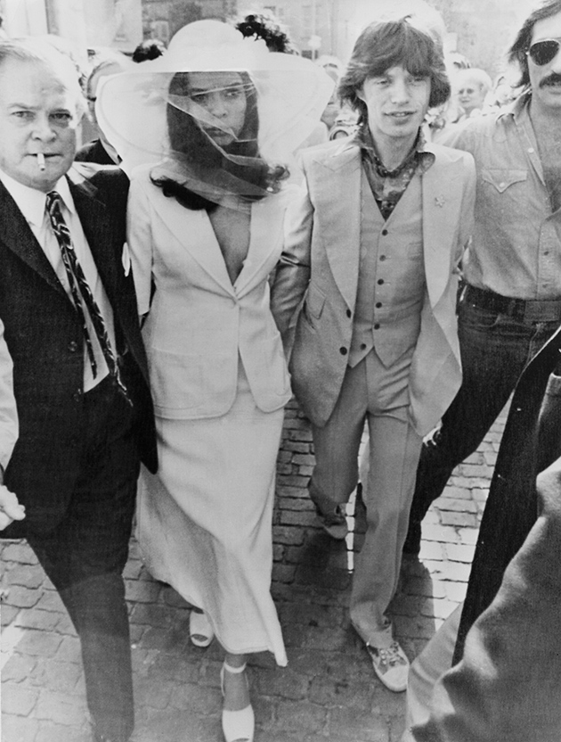Wedding dress Bianca Jagger