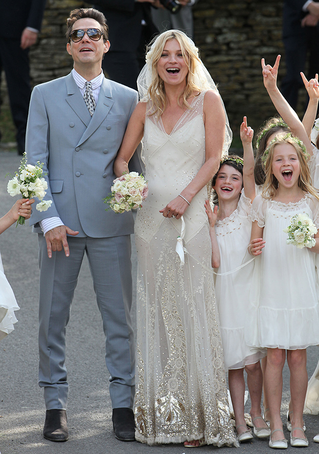 Kate Moss bridal clothes