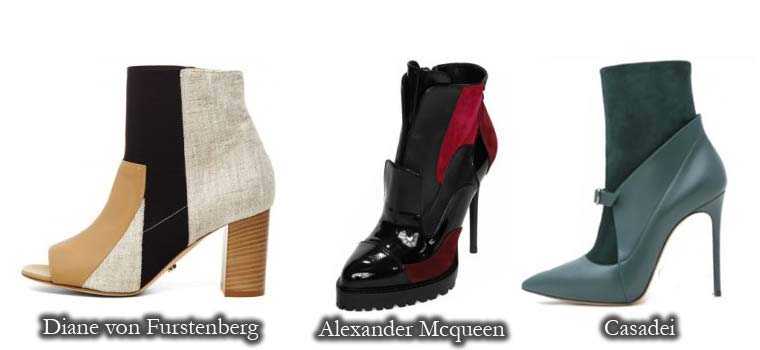 Fall 2015 ankle boots for women