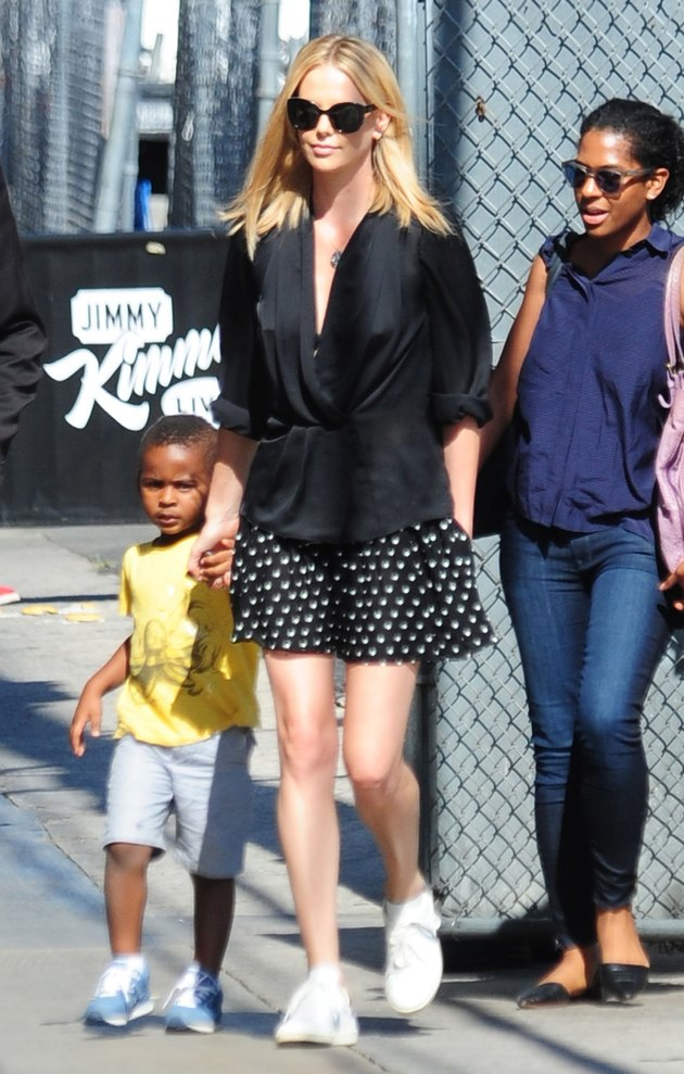 Charlize Theron second time mother