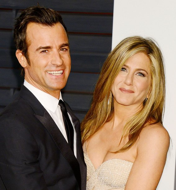 Jennifer Aniston and Justin Theroux married