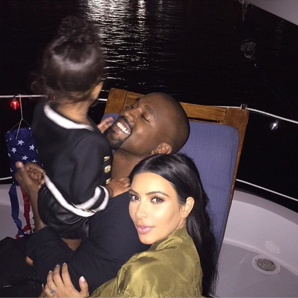 Kim Kardashian and Kanye West name for the future son