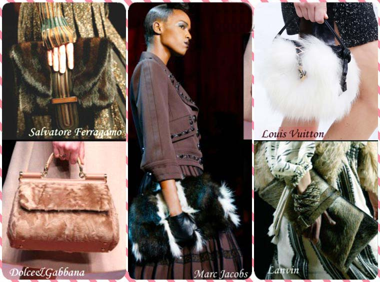 Fall-Winter 2015-2016 furry bags collections