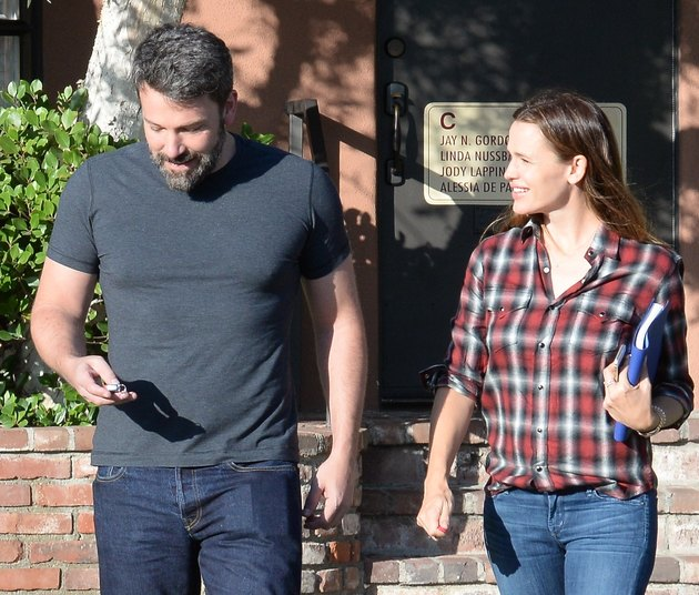 Ben Affleck and Jennifer Garner second chance