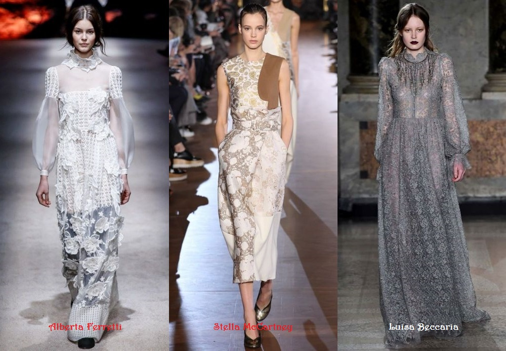 Lace Dresses designs 2015 2016 Fall Winter