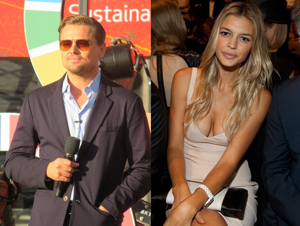Leonardo DiCaprio and Kelly Rohrbach bride to his parents