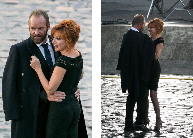 Sting and Mylene Farmer Stolen Car
